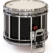 Revolution Series 14 inch snare drum in Ebony Black Lacquer - EBC