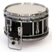 Revolution Series 7 inch snare drum in Ebony Black Lacquer (a) - EBC