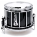 Revolution Series 14 inch snare drum with Diamond Chrome in Black Sparkle Lacquer - BSX-C