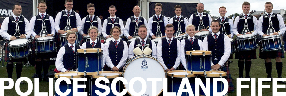 Police Scotland Fife Pipe Band