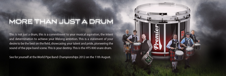 More than just a drum. The HTS 800 snare drum.